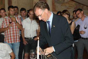 Paolo Basso pri dekantaciji