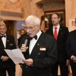 Ivan Peršolja in slavnostni govor