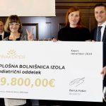 Borut Fakin s predstavnicami Splošne bolnišnice Izola