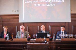 Z leve Mitja Meršol, Boštjan Zidar in Borut Fakin