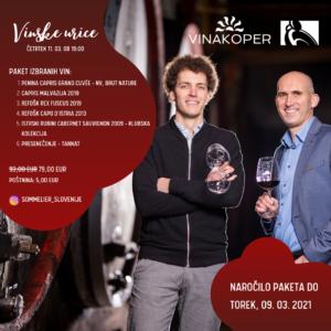 Vinske urice: Vinakoper